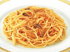 日清フーズ)レンジ用スパゲティたらこと舞茸 250g