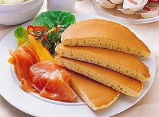 マリンフード)ジャンボふんわりホットケーキ 70g×2枚