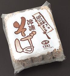 四国日清食品)「麺の味わい」冷凍そば 200g×5個入【旧商品 503420 からの切り替え】