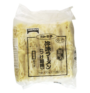 テーブルマーク)麺始め 冷凍ラーメン(つけ麺用) 100g×10個入