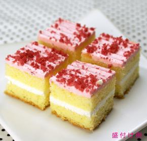 ファミール)シートケーキ54 いちご (1シート54カット)