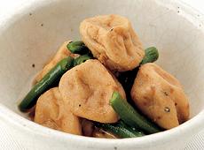 ヤマダイ食品)ミニがんもとインゲンの煮付け 1kg