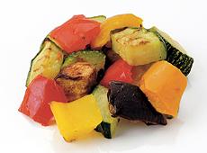 カゴメ)冷凍菜園風グリル野菜のミックス 600g