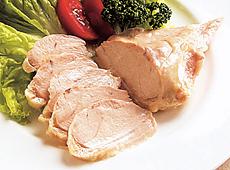 アサヒブロイラー)ふっくら蒸し鶏 500g