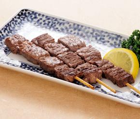 フーズタヒコ)牛ステーキ串 15cm 約35gx10本入
