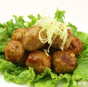 石光商事)ミートボール(鶏肉) 1kg (約65個入)