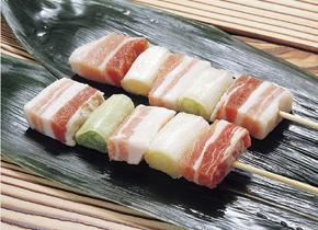 フーズタヒコ)豚バラ葱間 35g×10本