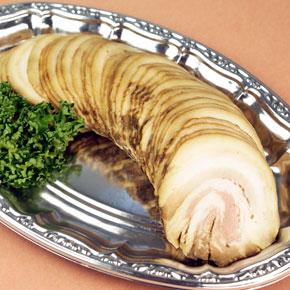 フーズタヒコ)冷凍焼豚(バラ) 約10g×50枚入