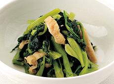 ヤマダイ食品)茨城産小松菜と揚げの煮物 500g【旧商品 510813 からの切り替え】