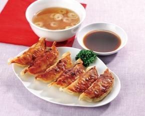 味の素)レンジでおいしい焼餃子 約24g×10個【3月より価格変更】