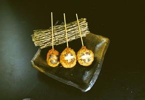 八幡フーズ)しいたけ海鮮すり身串 約30g×30