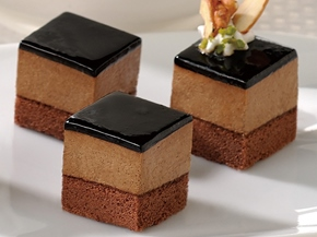 カット済ケーキレアーチョコ(ベルギー産チョコレート使用)【季節限定2月-5月】