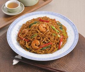 シマダヤ)上海焼そば(極細めん) 1kg【5月より価格変更】