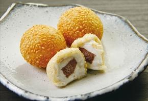 友盛貿易)ごま団子(紅小豆餡) 約27g×20個