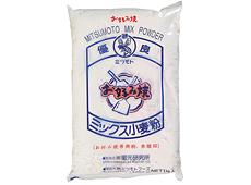 ミツモト)お好み焼専用粉 赤版印 1kg【3月より価格変更】