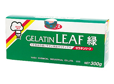 野洲化学)板ゼラチン(緑) 300g