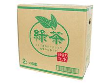 【販売終了】緑茶(PET) 2L×6本×2ケース