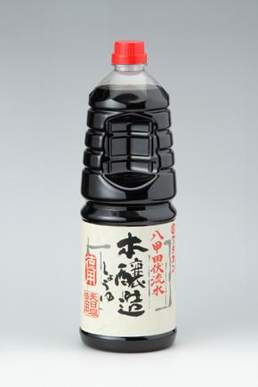 ワダカン)八甲田伏流水 本醸造醤油 徳用 1.8L