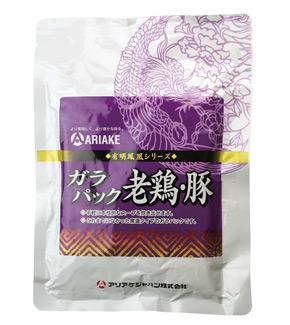 アリアケジャパン)ガラパック老鶏・豚 約500g