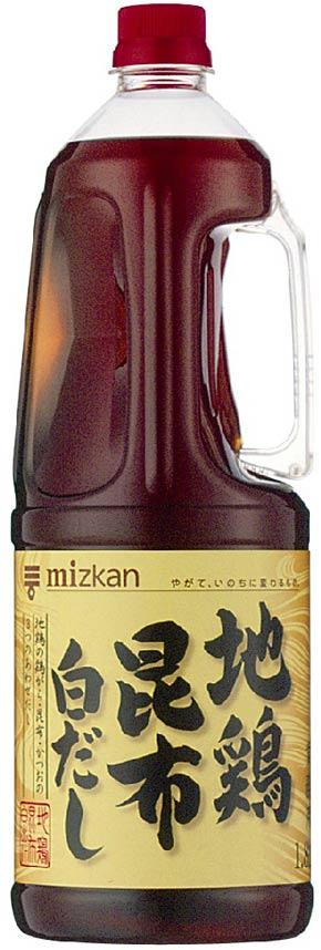 ミツカン)地鶏昆布白だし 1.8L
