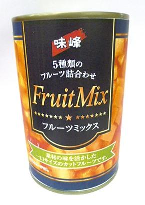 信明商事)フルーツミックス缶詰2号缶 850g【旧商品 650115 からの切り替え】