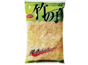 信明商事)竹の子水煮 千切 1kg