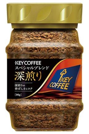 キーコーヒー)インスタントコーヒースペシャルブレンド 深煎り 90g【12月より価格変更】