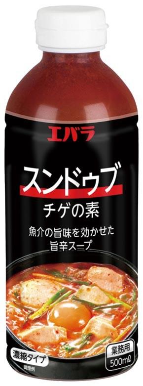 エバラ食品)スンドゥブチゲの素 500ml【季節限定10-2月】