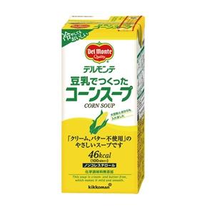 デルモンテ)豆乳でつくったコーンスープ 1L