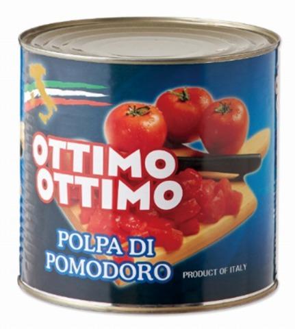 トマトコーポレーション)カットトマト 1号缶(2550g)