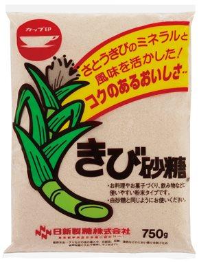 日新製糖)きび砂糖 750g