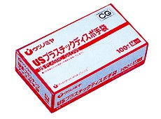 【商品番号 720206 に変更となりました】USプラスチックグローブMサイズ 100枚【販売終了】