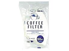 コーヒーフィルター F102 2~4人用 100枚【12月より価格変更】