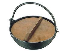 アルミ田舎鍋(蓋付)18cm