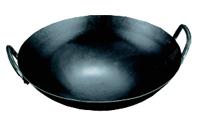 中華鍋両手打出鉄製 39cm