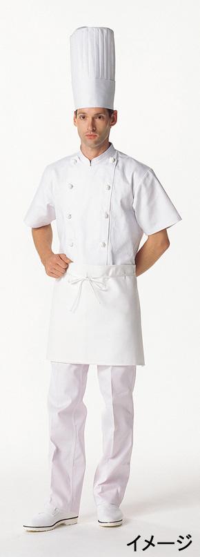 コックコート(男女兼用・半袖)kS6622-2L(白)【12月より価格変更】