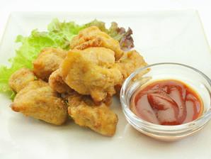 日本水産)自然解凍若鶏の唐揚げ500g