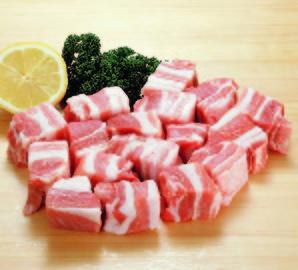 豚バラ肉角切り 500g