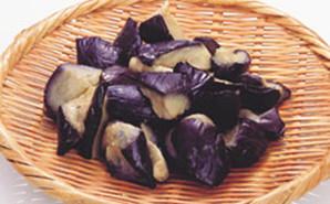交洋)揚げ茄子乱切り 500g(約30-40個入)【旧商品 520965 からの切り替え】
