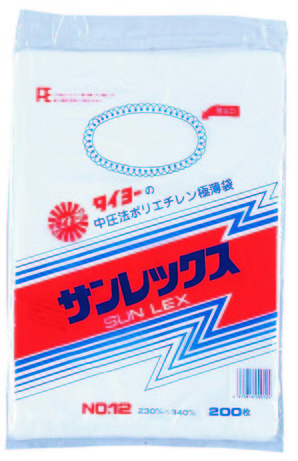 バランスパック 12号 ヒモ付 半透明 200枚入【値下げしました】