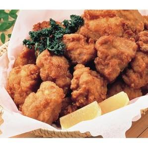 ニチレイ)鶏もも唐揚げ 1kg(30~33個)【5月より価格変更】