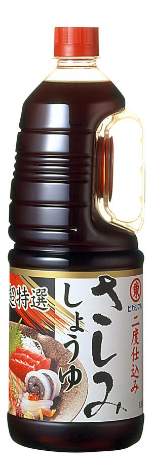 ヒガシマル)東丸 さしみ醤油 1.8L