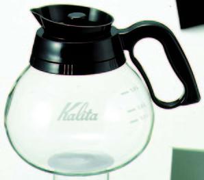 コーヒーデカンター 1800cc 耐熱ガラス製 カリタ