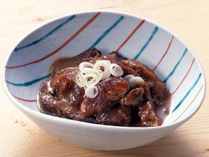 【販売終了】テーブルマーク)牛すじ肉の味噌煮込み 500g【旧商品 620533 の類似品】