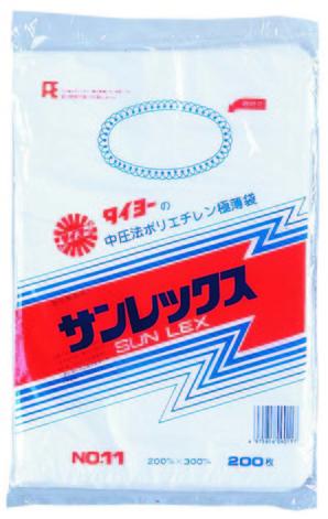バランスパック 11号 ヒモ付 半透明 200枚入