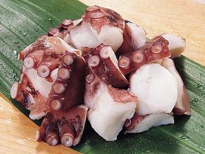 【商品番号 570235 に変更となりました】ハッピーシーフーズ)岩蛸カット IQF 1kg【一時休売】