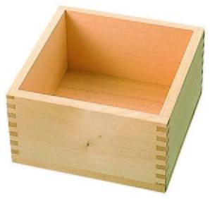 祝マス木製ヒノキ1合用【在庫限りで販売終了】