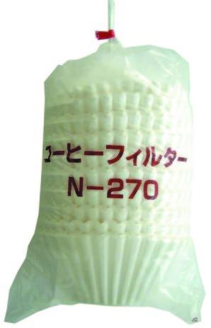 イデシギョー)コーヒーフィルター N-270【12月より価格変更】