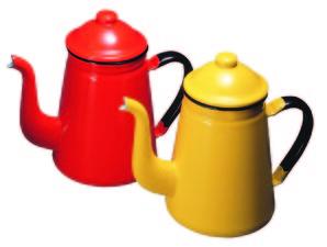 コーヒーポット#11 1.0L 赤ホーロー【在庫限りで販売終了】