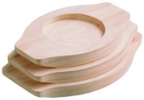 石焼ビビンバ用木台21cm用大【在庫限りで販売終了】